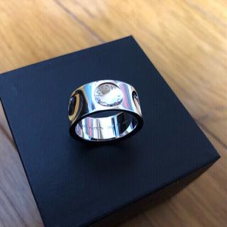 ルイヴィトン(LOUIS VUITTON)のルイヴィトン K18WG グランドバーグクルーリング #57 (リング(指輪))