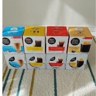 Nestle - ネスカフェ ドルチェグスト用カプセル 4種各4箱 合計16箱