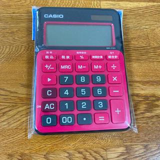 カシオ(CASIO)の★CASIO 電卓★ 未使用 MW-C12A(オフィス用品一般)
