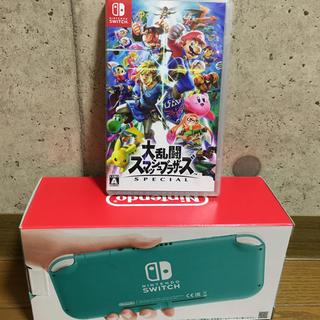 Nintendo Switch - Nintendo Switch Lite(ターコイズ)+スマッシュブラザーズ
