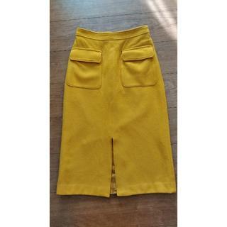 スピックアンドスパン(Spick and Span)のWポケットビーバータイトスカート サイズ36(その他)