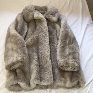 ロキエ(Lochie)の80s ヴィンテージ エコファー フェイクファー コート(毛皮/ファーコート)