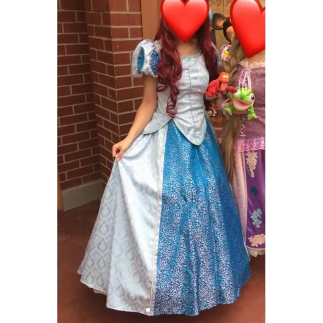 Disney(ディズニー)の15日まで最終セール❗️ アリエル ドレス コスプレ ディズニー エンタメ/ホビーのコスプレ(衣装一式)の商品写真