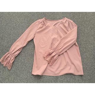 RyuRyu - ピンクシャツ