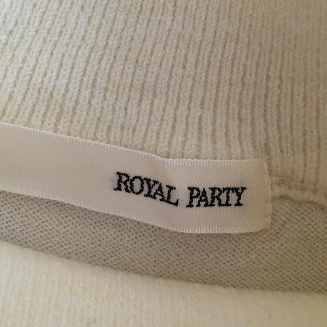 ROYAL PARTY(ロイヤルパーティー)のROYAL PARTY カットソー レディースのトップス(カットソー(半袖/袖なし))の商品写真