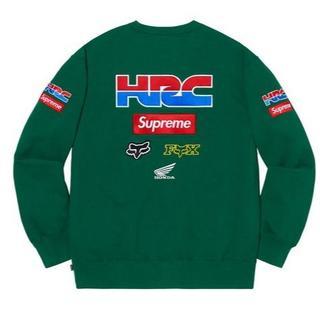 シュプリーム(Supreme)のSupreme Honda Fox Racing Crewneck large(スウェット)