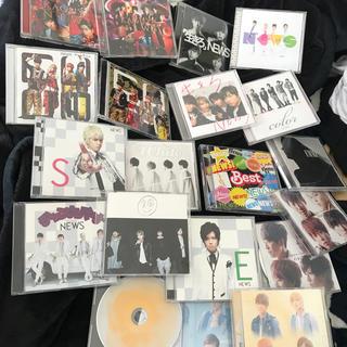 NEWS - NEWS CD DVD セット シングル アルバム CD 50枚セット初回 通常