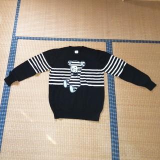 グラニフ(Design Tshirts Store graniph)のグラニフ☆コントロールベア☆コットンセーター☆Mサイズ☆ユニセックス(ニット/セーター)
