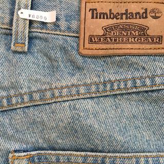 ティンバーランド(Timberland)の90sヴィンテージ Timberland デニム バギーパンツ ワイドパンツ(デニム/ジーンズ)