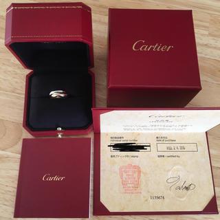 カルティエ(Cartier)の正規品☆美品 カルティエ トリニティ リング SM 51(リング(指輪))