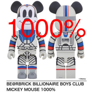 MEDICOM TOY - BILLIONAIRE BOYS CLUB MICKEY1000%ベアブリック
