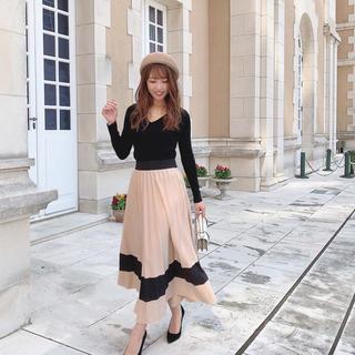 レディー(Rady)のミコアメリ♡バイカラーフレアスカート(ロングスカート)