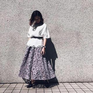 Ameri VINTAGE - ANTHESIS LACE SKIRT 本日限定価格