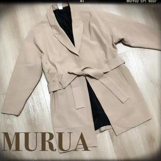 ムルーア(MURUA)の売り切りセール★MURUA(チェスターコート)