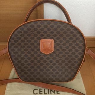 celine - セリーヌ マカダム ブラゾン バニティ ショルダー バッグ 2way 希少 美品