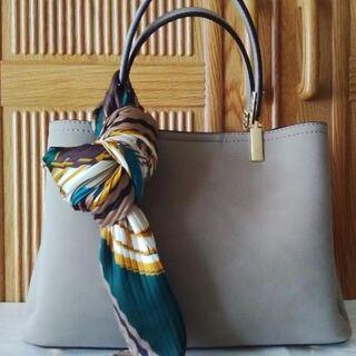 アネモネ(Ane Mone)の新品未使用 トライディープ スカーフ付 2WAYバッグ アネモネ(ハンドバッグ)