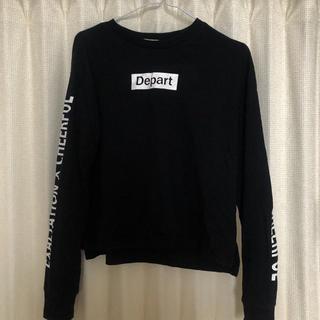 HONEYS - 袖ロゴ 長袖 Tシャツ