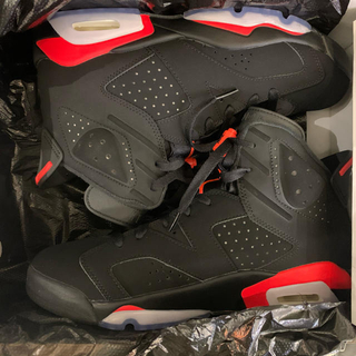 NIKE - Jordan 6 Retro Black Infrared インフラレッド