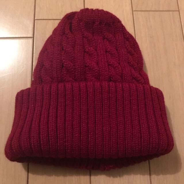 BROWNY(ブラウニー)の新品未使用 ニット帽 ビニー レディースの帽子(ニット帽/ビーニー)の商品写真