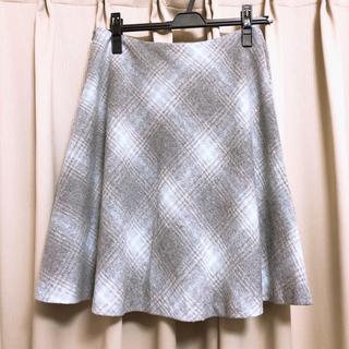 ナチュラルビューティーベーシック(NATURAL BEAUTY BASIC)のフレアスカート(ひざ丈スカート)