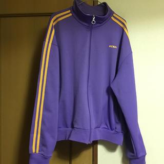 NERDY ラインジャージ 紫 パープル