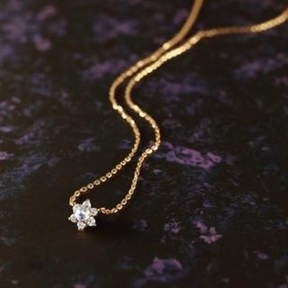agete - アガット◆2018 数量限定◆K18 ダイヤモンドスペシャルネックレス