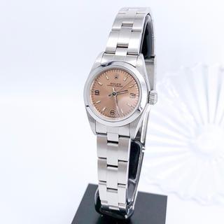 ロレックス(ROLEX)の【保証書付/仕上済】ロレックス オイスター シルバー レディース 腕時計(腕時計)