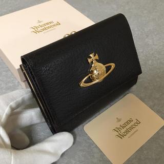 Vivienne Westwood - ★未使用★ヴィヴィアンウエストウッド  財布  ダークブラウン  がま口
