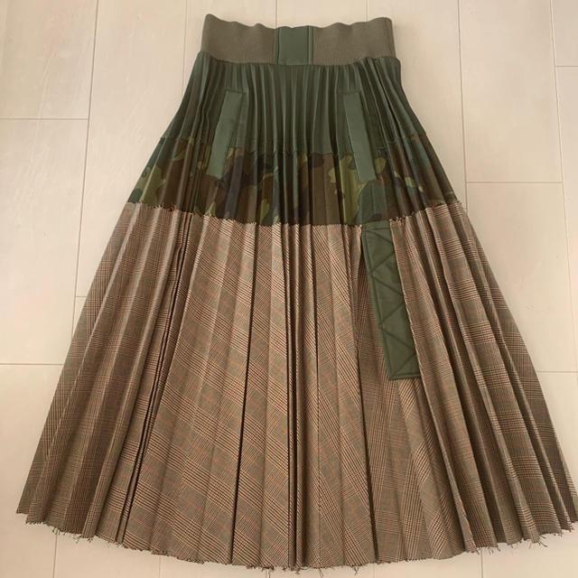 sacai(サカイ)のsacai  プリーツスカート レディースのスカート(ロングスカート)の商品写真
