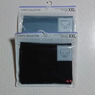 UNIQLO - ユニクロ ショーツ(ジャストウエスト) 2 枚セット XXL