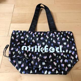 ミルクフェド(MILKFED.)の新品 雑誌付録 milk fed. ハート柄トートバッグとミニポーチセット(トートバッグ)