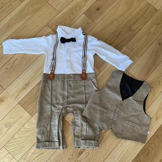 フォーマルロンパース 90センチ(ドレス/フォーマル)
