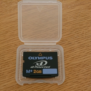 オリンパス(OLYMPUS)のOLYMPUS xD-Picture Card M+ 2GB(PC周辺機器)