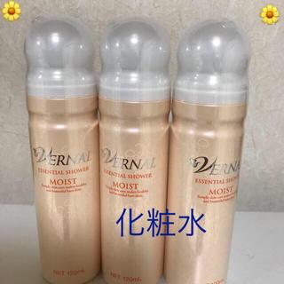 VERNAL - ヴァーナル エッセンシャルシャワーモイスト  化粧水 3本×120ml