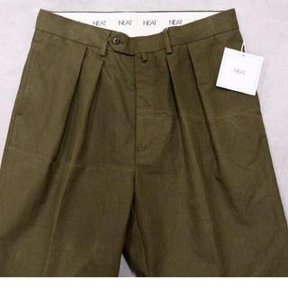 コモリ(COMOLI)のニート neat パンツ USテントクロス カーキ サイズ44(スラックス)