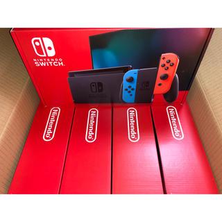 Nintendo Switch - 任天堂スイッチ 本体 新型 ネオン 5台 送料無料