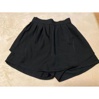 MURUA - MURUA キュロット スカパン ブラック 黒
