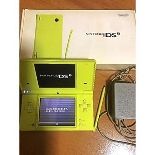ニンテンドーDS - 【送料込美品】ニンテンドーDS i本体(黄緑)+充電器+箱※箱のみ若干汚れあり※