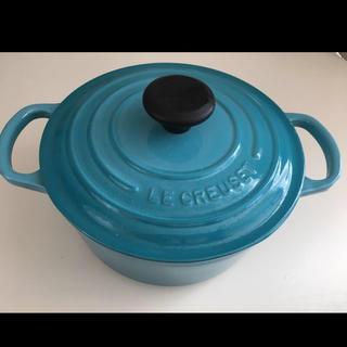 ルクルーゼ(LE CREUSET)のルクルーゼ ココットロンド 両手鍋 18(鍋/フライパン)