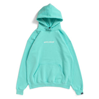 アップルバム(APPLEBUM)のApplebum neon sweat parka scuba blue L(パーカー)