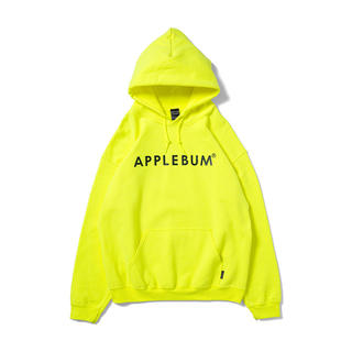 APPLEBUM - Applebum neon sweat parka yellow Lサイズ