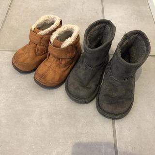 ムジルシリョウヒン(MUJI (無印良品))のブーツ 14cm 2点セット(ブーツ)