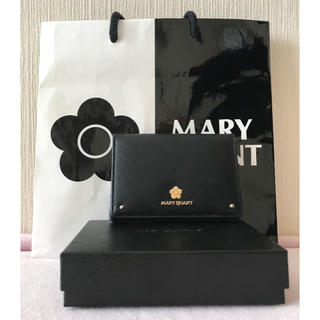 MARY QUANT - MARY QUANT マリークワント 定期入れ カードケース