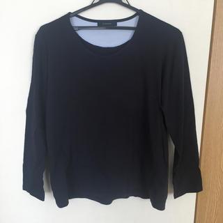 レイジブルー(RAGEBLUE)のRAGEBLUE ネイビーロングTシャツ(Tシャツ/カットソー(七分/長袖))