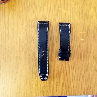 インターナショナルウォッチカンパニー(IWC)のIWC 革ベルト 20mm ジャンルソー 純正タイプ(レザーベルト)