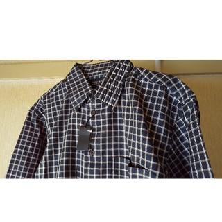 アオキ(AOKI)のBELLUMOREチェックシャツ◆Lサイズ(シャツ)