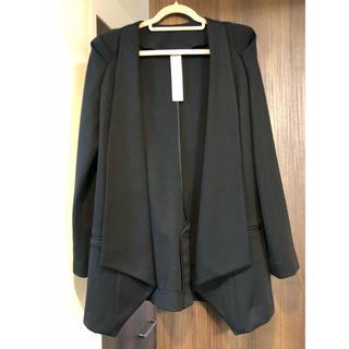 ムルーア(MURUA)のMURUA未使用テーラードジャケット黒(テーラードジャケット)