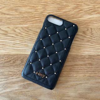 エイミーイストワール(eimy istoire)のeimy istoire iPhone7plusケース ブラック(iPhoneケース)