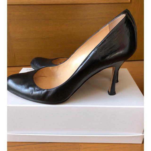 MANOLO BLAHNIK(マノロブラニク)のマノロブラニクパンプス 38.5 レディースの靴/シューズ(ハイヒール/パンプス)の商品写真