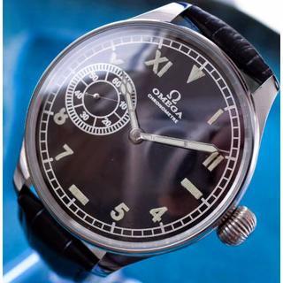 OMEGA - ◆オメガ◆ OH済/極上のミリタリー/1917/アンティーク/腕時計/手巻